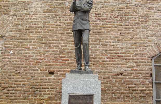 Estatua a Agustín Lara