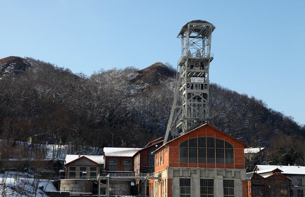 Mining museum in Saint-Etienne