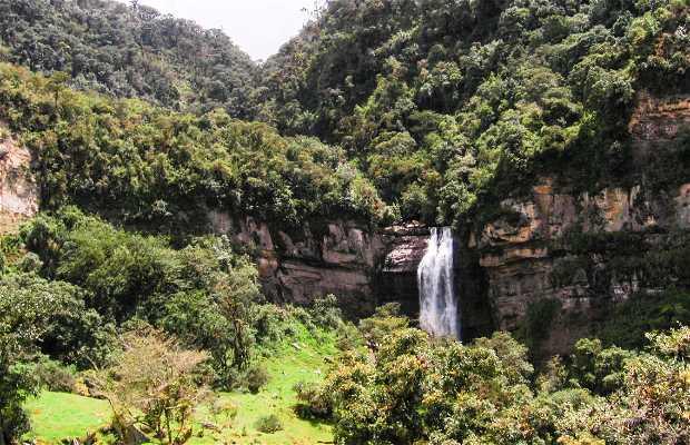 Sueva waterfall