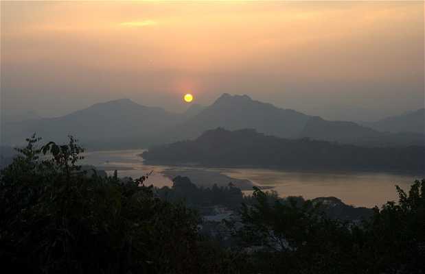Paseo en barca rio Mekong