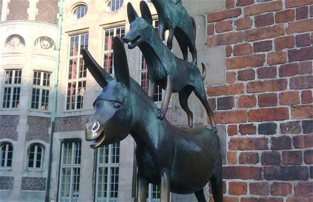 Statua dei Musicisti di Brema
