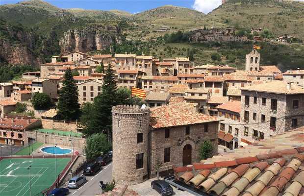 Le village de Castellar de N'Hug