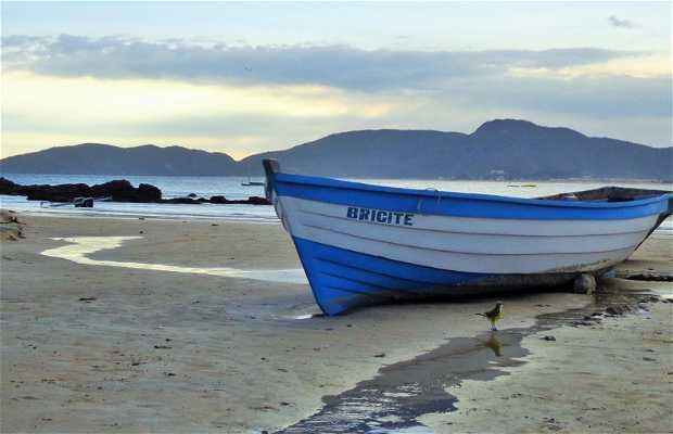 Ponta esquerda da praia de Geribá