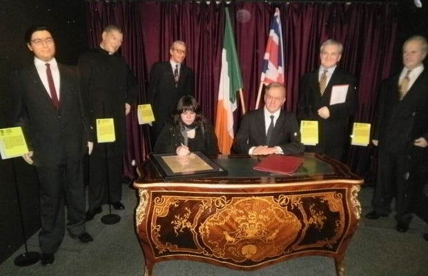 Museo de cera de Dublín
