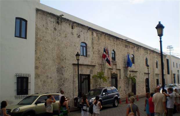 Calle Las Damas a Santo Domingo