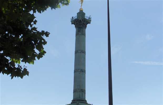 Place de la Bastille - Piazza della Bastiglia