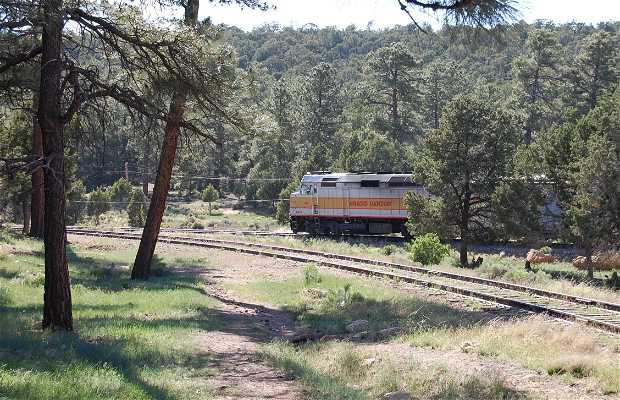 En tren al Gran Cañón
