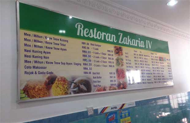 Restaurante zakaria iv