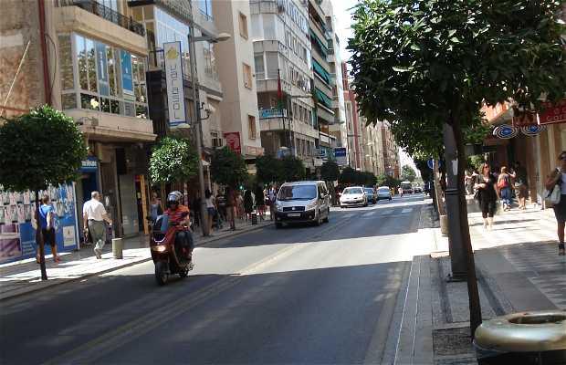 Calle Recogidas