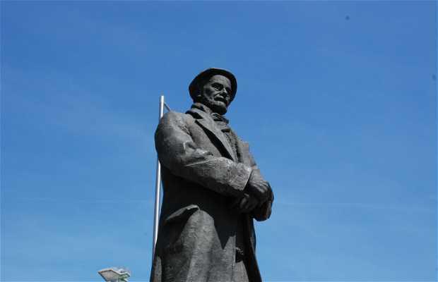 Sculpture of Pío Baroja