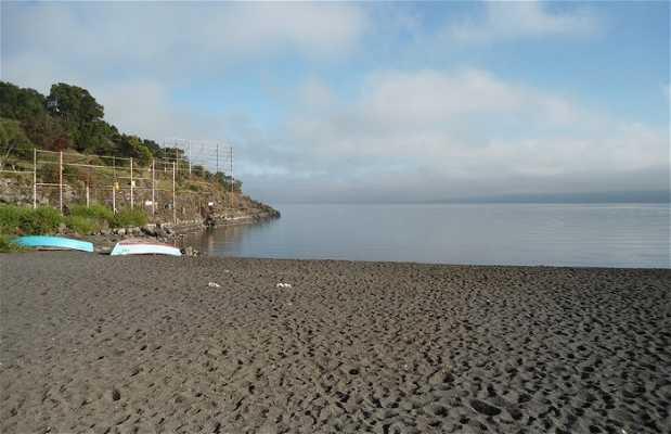 Pucon beach