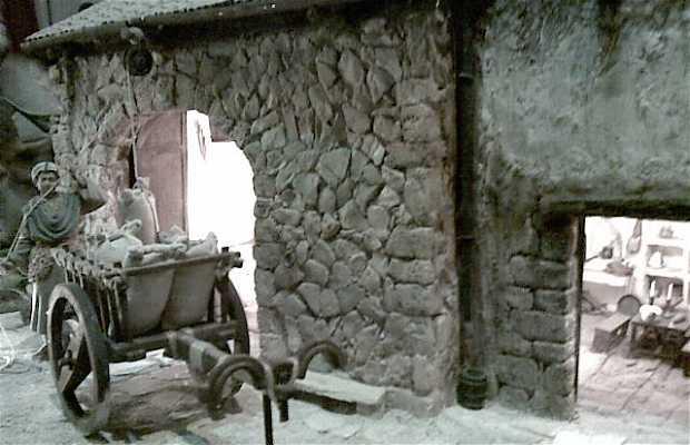 Belén de la Colla de Castellers Xiquets of Tarragona