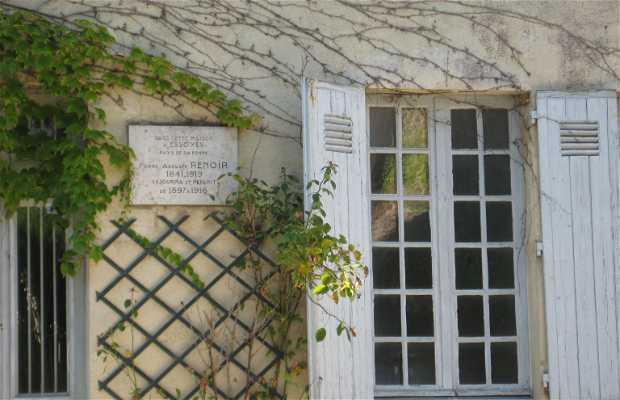 La maison d' Auguste Renoir