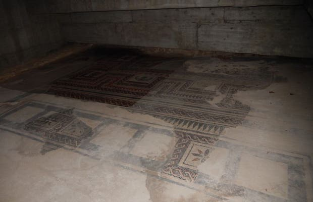Mosaico de la plaza de San Pedro