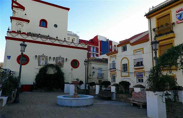 PLAZA DE LA AURORA (Barrio de La Trinidad en Málaga)