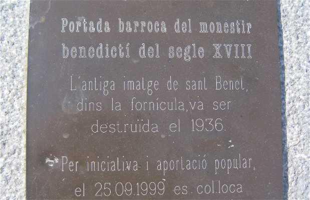 Arco de San Benito (San Benet)