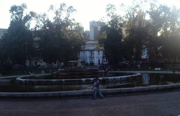Plaza del Palacio de Justicia