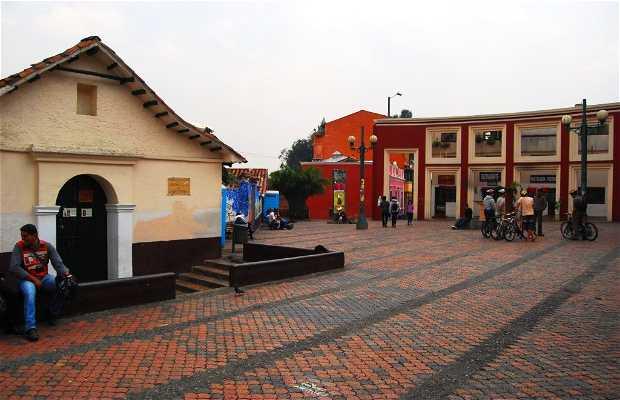 Plazoleta del Chorro Quevedo (La Candelaria)