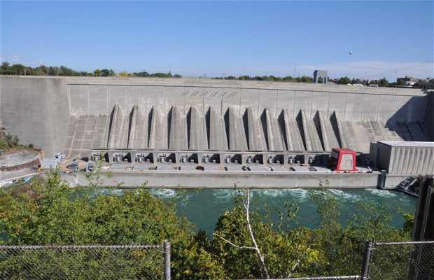 Le barrage de Lewinston