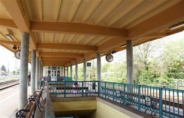Estación de trenes de Gyömrő