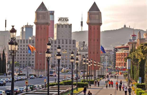 Avenida de María Cristina - Fira de Barcelona