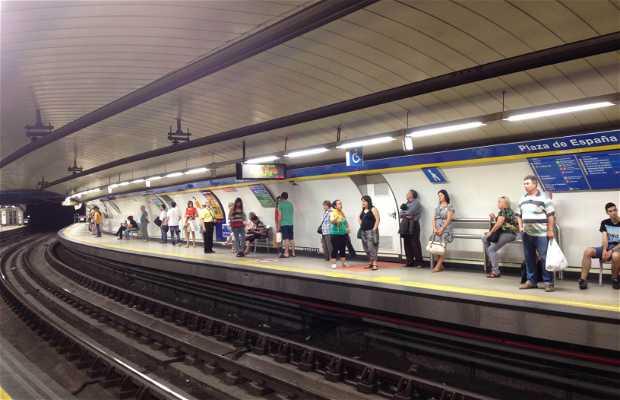 Estación Plaza de España