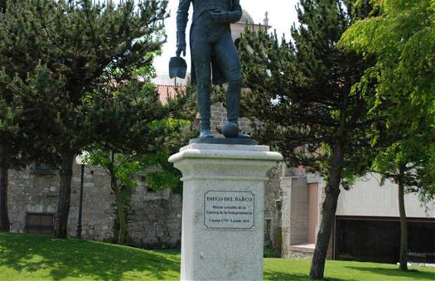 Estatua de Diego del Barco