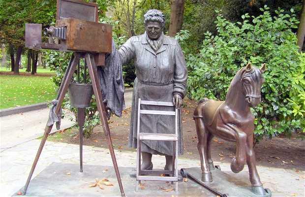 """Sculpture """"La torera"""""""