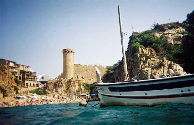 The Castle of Tossa de Mar
