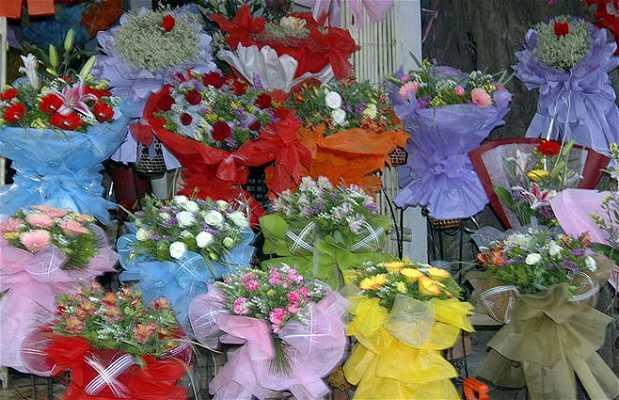 Puestos de Flores en Hanoi