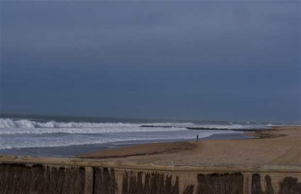 La spiaggia di Marinella ad Anglet