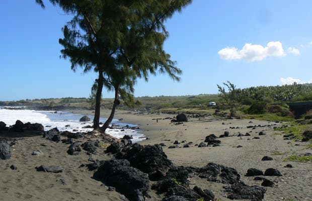Playa de la ravine du trou