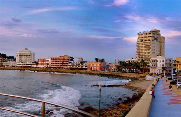 Vista panorámica de Mazatlán, Sin. México