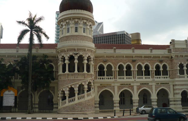 Le palais du sultan Abdul Samad