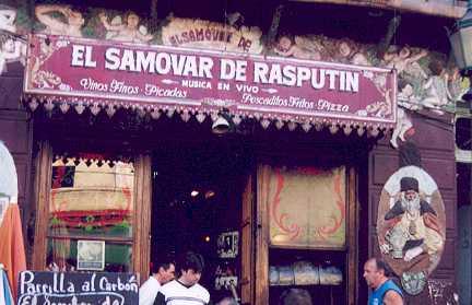 El Samovar de Rasputin