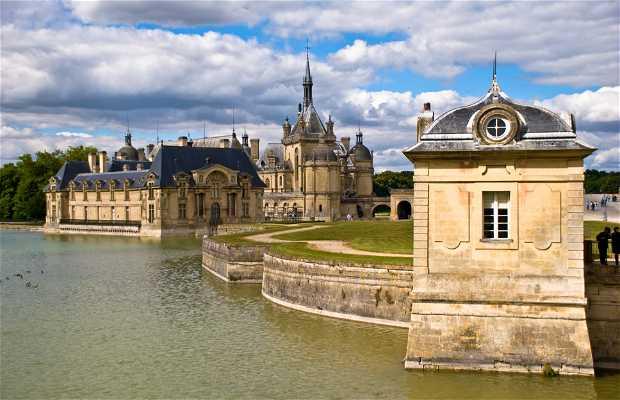Castello di Chantilly in Francia