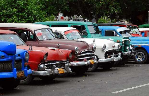 Taxis americanos de La Habana