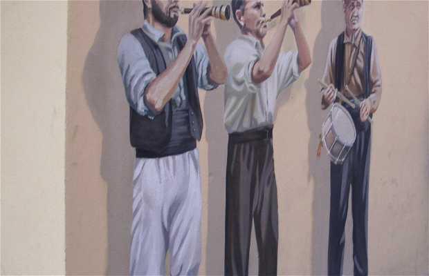 Pintura mural en El Vendrell