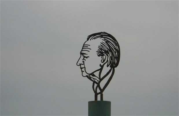 Estatua Itzah Rabin