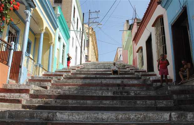 Escaleras de la Calle Padre Pico