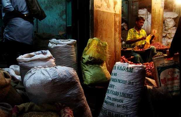 Mercado cubierto de Pondicherry