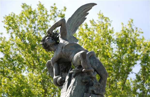 Plaza del Angel Caído