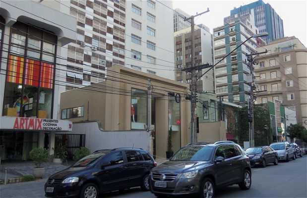 La rue Oscar Freire
