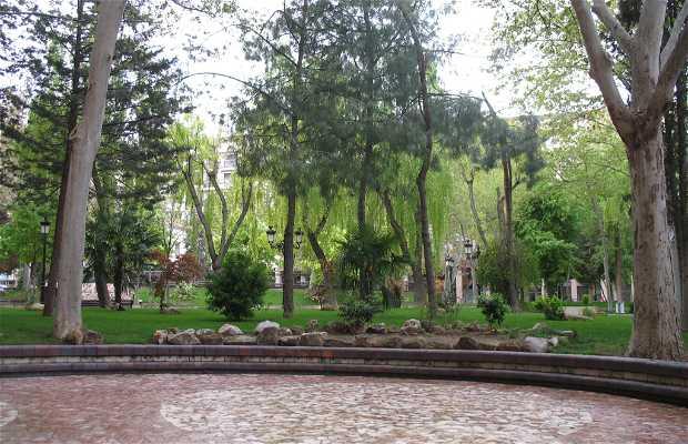 San Juan Park: Green areas of Albacete