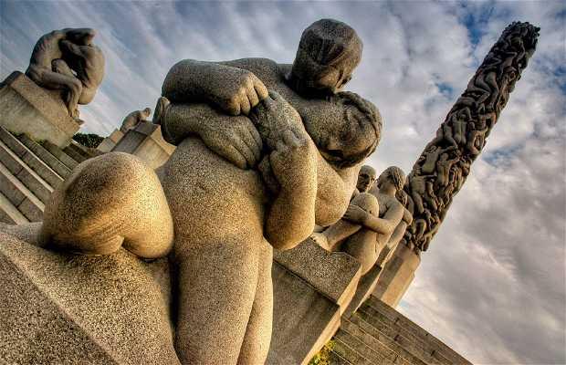 Monolithe du parc Vigeland