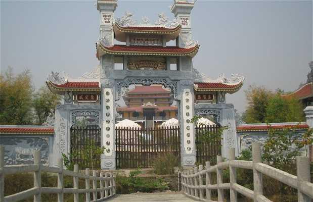 Templos budistas en Lumbini