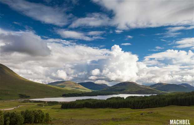 Mirador a Loch Tulla