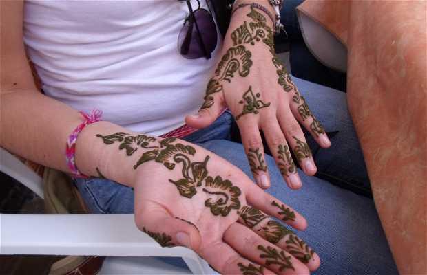 """Tatuajes de """"Henna"""""""