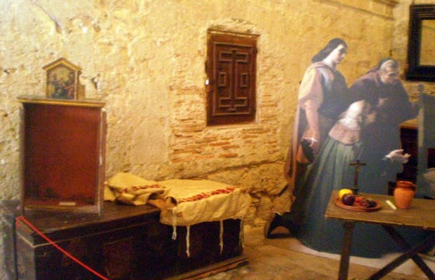 Sacristía (Iglesia-Museo de San Antolín)
