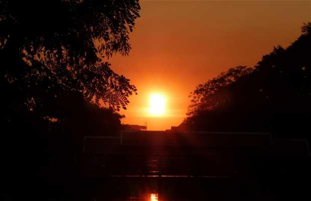 Atardecer en Siem Reap